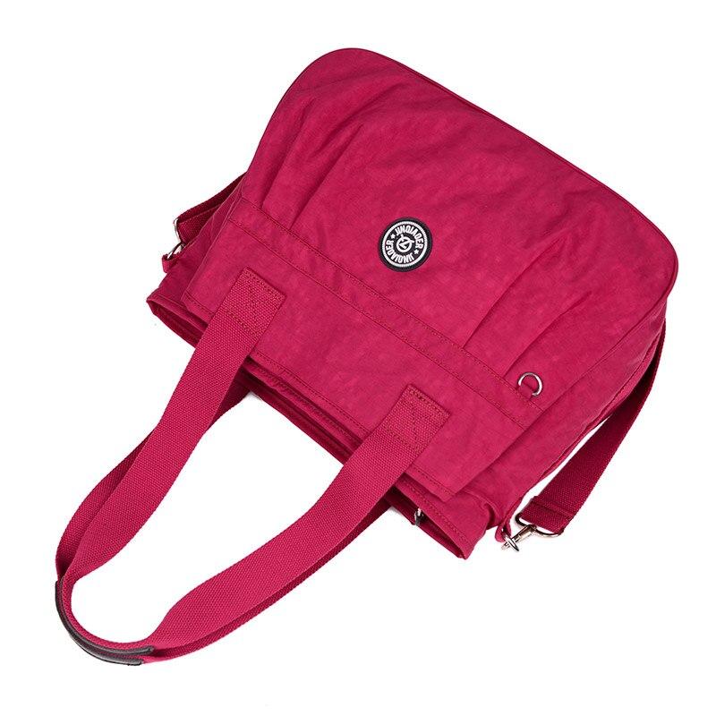 aaa2034cc7e JINQIAOER Waterproof Women Nylon Bag bolsa feminina Multi-function Handbag  Tote Shoulder Bags Brand Crossbody Bag For Women sac