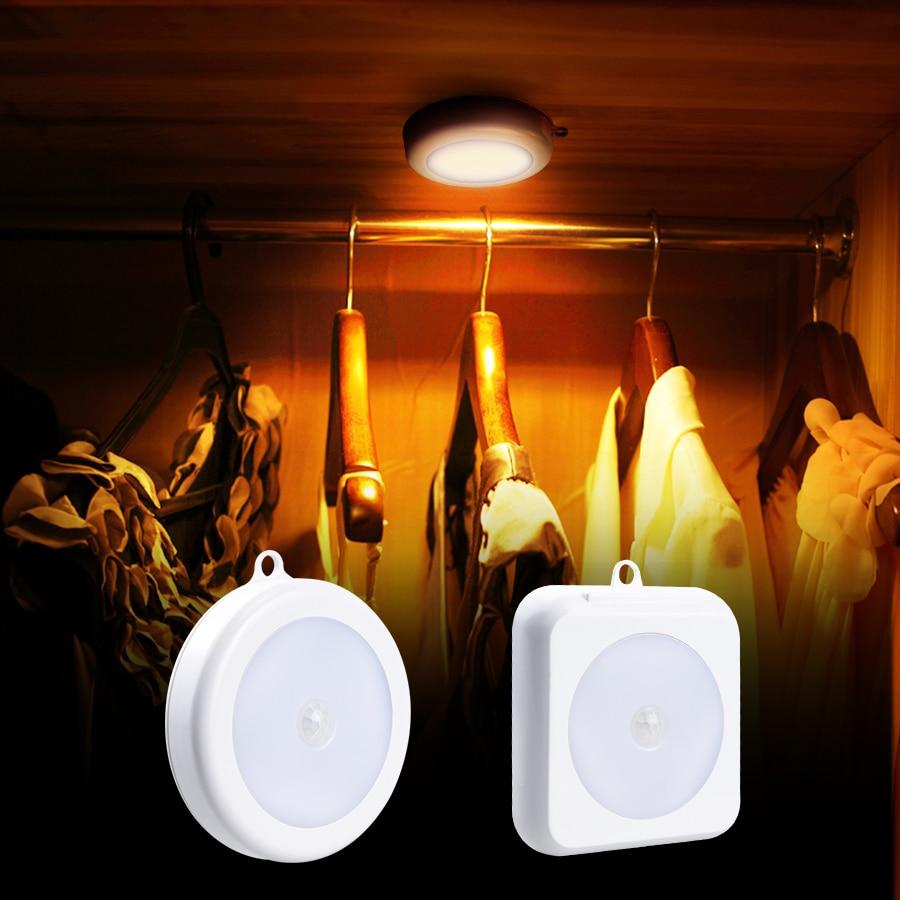 Smart PIR Motion Sensor LED Stairs Light bedroom Lamp Indoor Lighting wall lamp