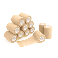Self Adhesive Bandage Waterproof Nonwoven Bandage Breathable Sport Tape Muscle Wraps Medical Health Care 7.5cm 12 Rolls
