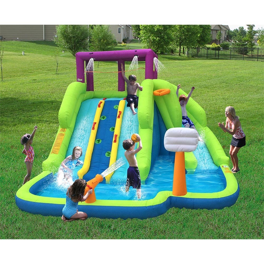 High quality inflatable water slide pool games, inflatable ...