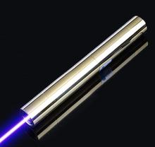 Cheap price hot 10000mw 10W 450nm High Power Blue Laser Pointers Flashlight burning match Combustion/burn cigarettes+5 caps+Glasses+gift box