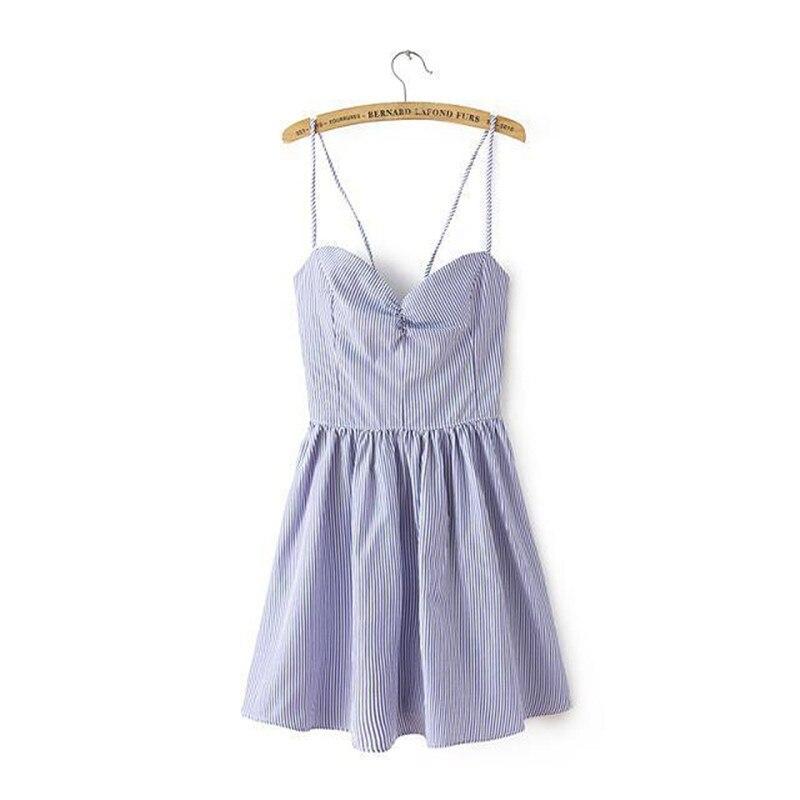 OLGITUM New Fashion Summer Dress Sweet Solid V neck Bowknot Harness font b Camis b font