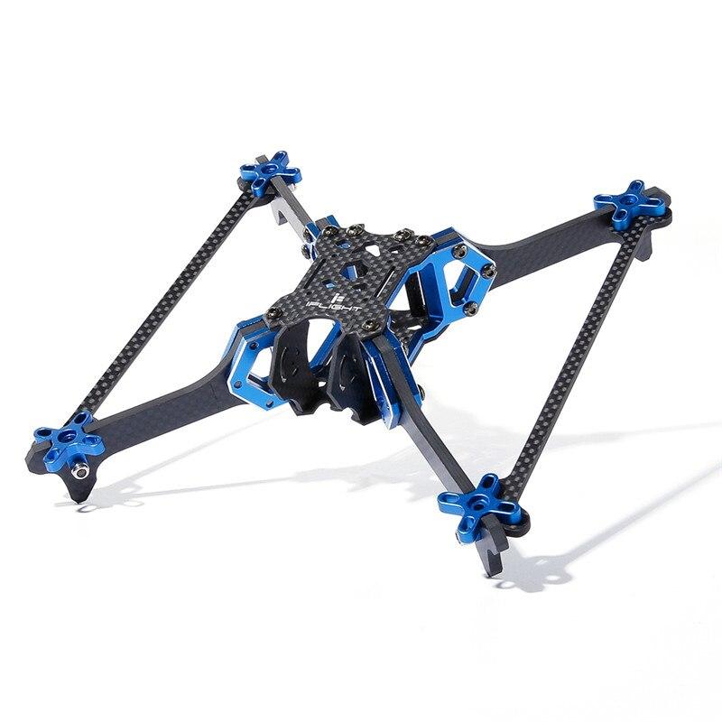 IFlight Vertigo VX5 V2 cadre de course Vertical FPV 5 pouces empattement 200mm CNC en aluminium Rack 111.5g pour FPV RC Kit de Drone de course
