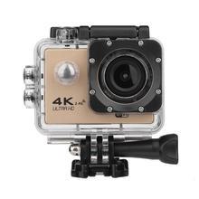 Nowy F60R 4K pilot WIFI kamera akcji 1080P HD 16MP 170 stopni szeroki kąt 30m wodoodporny sport aparat DV dla GOPRO promocja