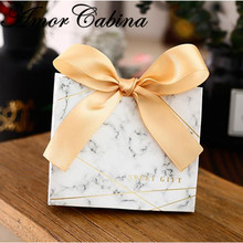 30pcs Cartoon unicorn party Favors Bomboniera birthday gift box marble Candy Boxes wedding package Party Supplies