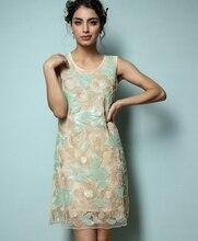 Летние женщины одеваются мода сексуальная рукавов левша блестки вышивка женщина платья ну вечеринку платье вечернее платье одежда