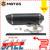 ZS MOTOS Universal Modified Motorcycle Racing Exhaust Pipe With DB Killer CBR CB400 CBR600 YZF TTR