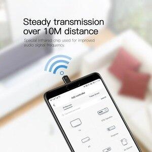 Image 5 - Control remoto Universal Baseus R03 para TV/aire acondicionado/proyectores Micro Jack Control remoto inteligente por infrarrojos para teléfono Xiaomi Huawei