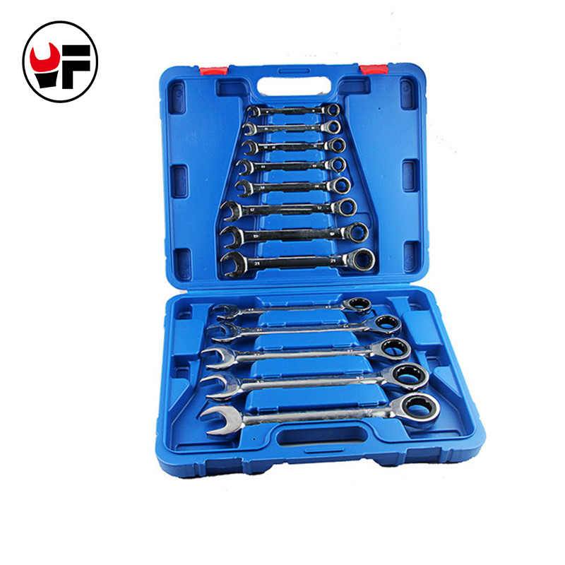 13pcs Tools for car kit Combination the key ratchet  wrench set hand tools auto repair spanners a set of keys DN103 hot free 6in1 combination of activities head ratchet wrench car repair parts hand tools wrench a set of keys 8 9 10 11 12 13