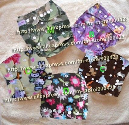 Бамбук Детские ткань пеленки 10 шт. ткань пеленки(внутренний бамбук)+ 10 шт. вставки