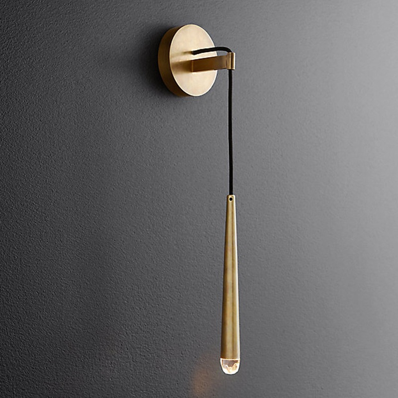 Post modern Personality Fashion Creative Nordic Wall lamp American Simple Retro Living room Bedroom Bedside lamp Decoration
