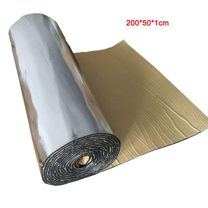 200*50 Cm Car Sound Deadener Insulation Block Heat Sound Pad Heat Insulation Car Soundproofing