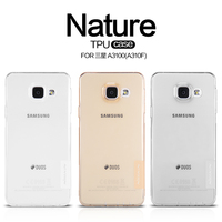 Nillkin Nature Transparent Clear Soft Silicon TPU Protector Case Cover Free Shipping For Samsung Galaxy A3