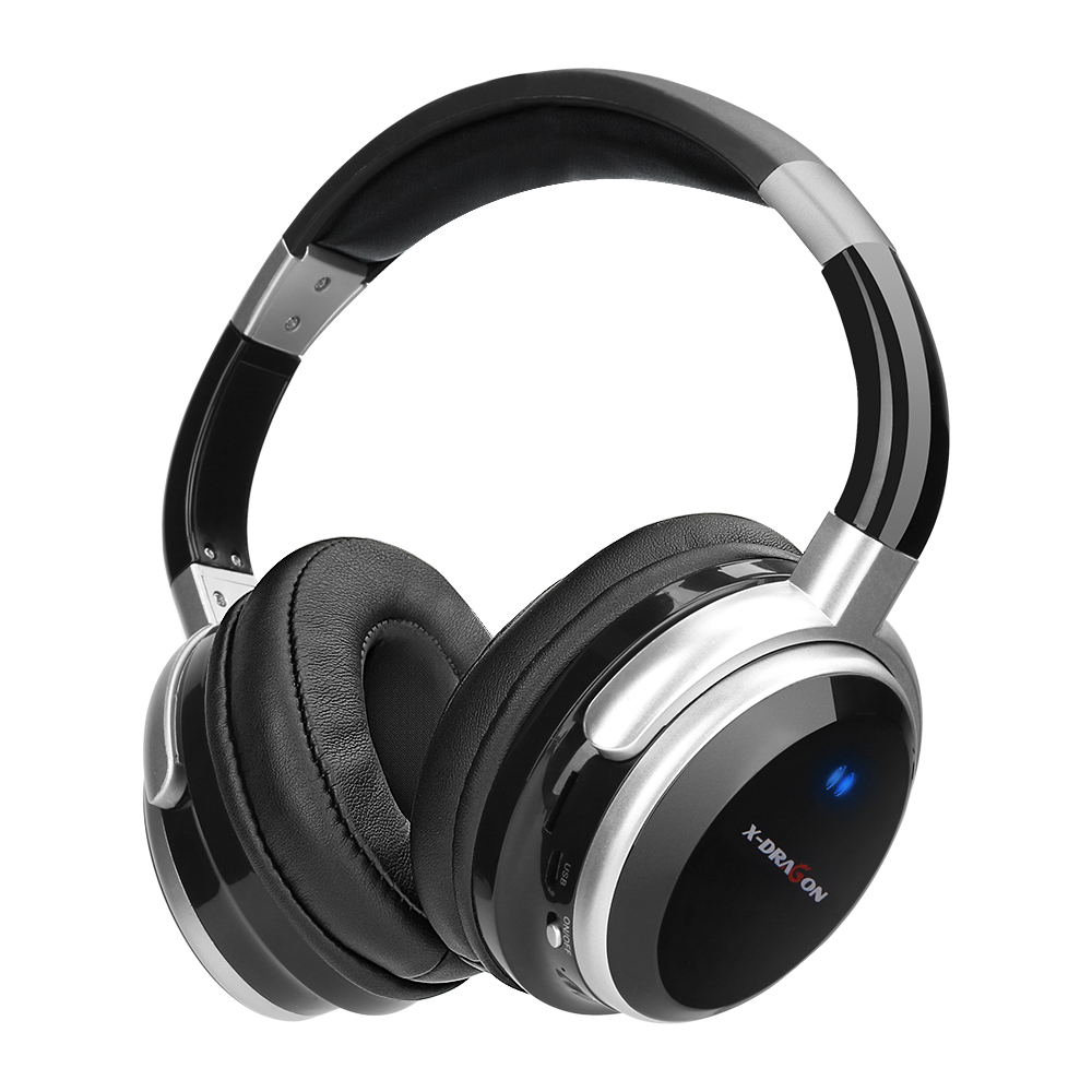 Bluetooth Headphone Stereo headphones and support SD card with microphone for Xiaomi mobile iphone sumsamg in Bluetooth Earphones Headphones from Consumer Electronics