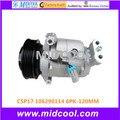 Высокое качество авто AC компрессор CSP17 для CRUZE CHEVROLET OPEL 106290114