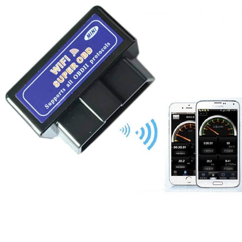 A + Qualité ELM 327 WIFI V1.5 OBDII/OBD2 Auto Scanner Outil Soutien Android et IOS Système ELM327 Wifi Soutien OBD II Protocoles LR20