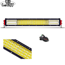 CO LIGHT 12D Led Bar Offroad 22 Inch Led Work Light 384W for Auto ATV 4X4 Toyota Jeep Wrangler Lada Niva Tractor Car Accessories auxmart led bar 22 324w for jeep wrangler jk 2007 2018 led light bar work light offroad lamp for jeep wrangler unlimited jku