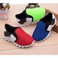 Children's footwear kids boys shoes bright child shoe Dual-network breathable sneakers slip Boys and girls sports shoes 30#