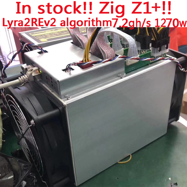 In stock!!Brand new Dayun mining Zig Z1+ Lyra2REv2 algorithm 7.25GH/s 176.5W/GH+BITMAIN official PSU for BTC VTC MONA ORE RUP