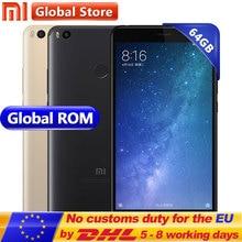 Оригинал Сяо Mi Max 2 Max2 4 ГБ 64 ГБ Snapdragon s625 Octa Core мобильный телефон 6.44 дюймов 1920*1080 5300 мАч 12.0mp + 5.0mp