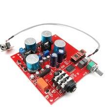 Auricular de alta fidelidad TPA6120A2, amplificador de sonido de fiebre, auricular Amp OP275, preamplificador OP AMP con control de volumen