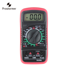 цены Prostormer LCD Digital Multimeter Voltmeter Ammeter AC DC OHM Volt Tester Handheld Multimeter Overload Protection Backlight