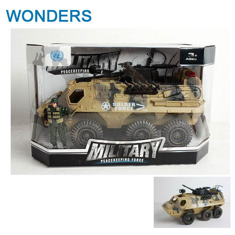 Big Collectible 6 Wheels Tanks and armored vehicles sand