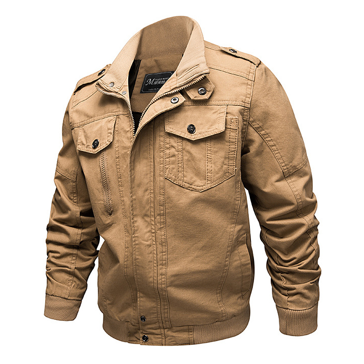 HTB15w.qVgHqK1RjSZJnq6zNLpXad 2019 Military Jacket Men Cargo Tactical Bomber Jacket Male Plus Size 6XL Casual Zipper Air Force Pilot Flight Cotton Coat Jacket