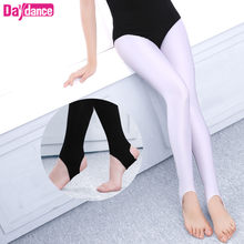 Girls Kids Ballet Stirrup Tights Pantyhose Child Dance Leggings Cotton Spandex Yoga Gymnastics Dance Pants(China)