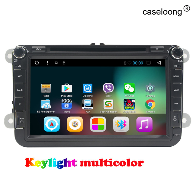 8 Quad core Android 7.1 Car DVD for Skoda Fabia Rapid Roomster Yeti Octavia Superb gps radio head unit car stereo free map