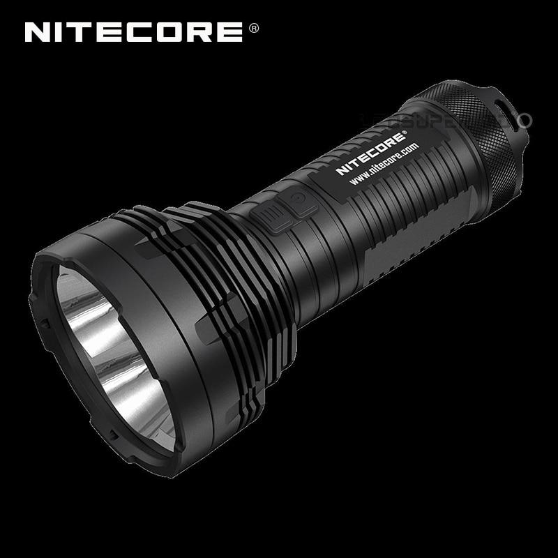 Крошечный Монстр Nitecore TM16GT Ultra длинный диапазон 1003 м ручной прожектор фонарик 3600 люмен 4 CREE XP L Здравствуйте V3 светодиоды
