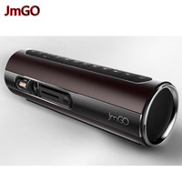 100 Original JmGO P1 3D DLP Projector Portable Pocket Smart Theater Support 1080P Hi Fi Bluetooth