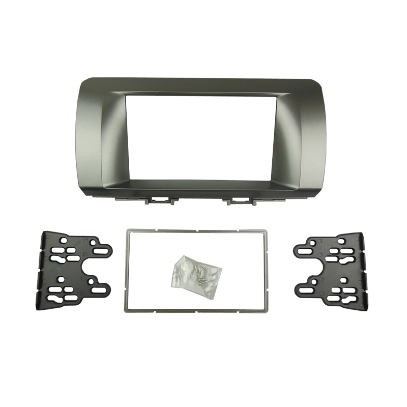 For TOYOTA Bb Double Din Fascia font b Radio b font DVD Stereo Panel Dash Mount