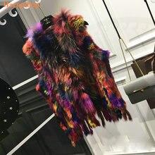 גודל אופנה Gilets ארנב