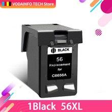 Картридж QSYRAINBOW Remanufacture 56XL для HP 56 HP56, Картридж с черными чернилами Deskjet 2100 220 450 5510 5550