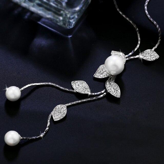 Модные богемные цепочки чокеры большие эффектные жемчужные ожерелья