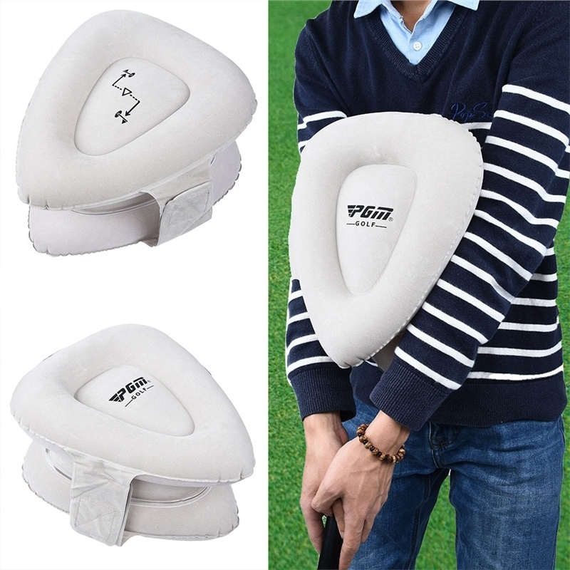 Golf Training Aids Inflatable Golf Arm Corrector Straight Practice Arm Posture Corrector Training Golf Swing Trainer Partner