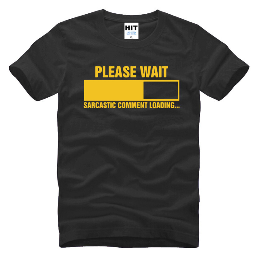 Sarcastisk kommentar Loading Geek Nerd Mænds Funny T-Shirt T-Shirt - Herretøj - Foto 6
