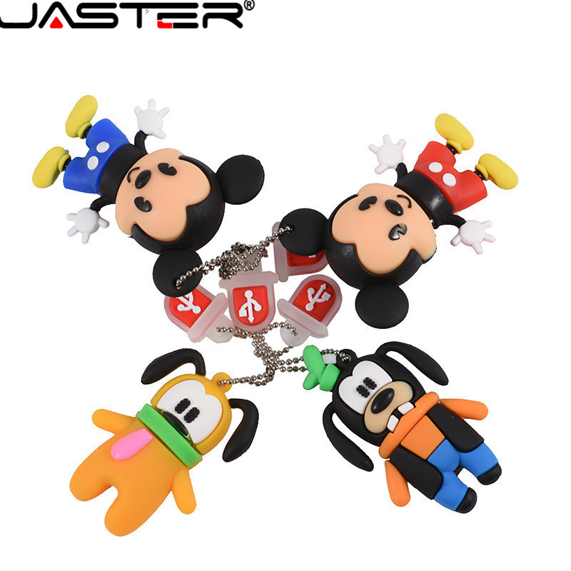 Mickey And Goofy Pluto USB Flash Drive Pen Drive Animal Cartoon Pendrive 4GB/8GB/16GB/32GB/64GB  Exquisite Pendrive Funny Usb