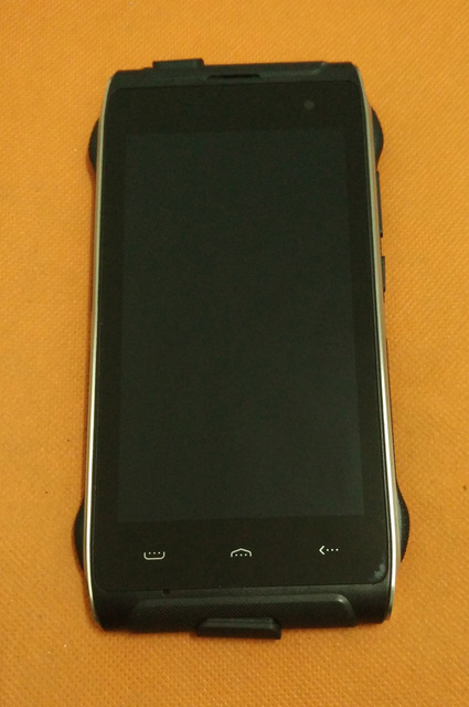Used Original LCD Display + Touch Screen Digitizer +Frame for HOMTOM HT20 MTK6737 Quad Core HD 1280x720 Free shiping