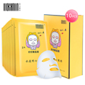 DXIN 10 Unids Ácido Hialurónico Mascarilla Hidratante Reposición Profundidad Blanqueamiento Colágeno Antiarrugas Máscara de Tratamiento de Cuidado de La Piel