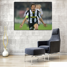 Ronaldo Senior Alessandro Del Piero Celebration Canvas Painting Prints Bedroom Home Decor Modern Wall Art Oil Posters