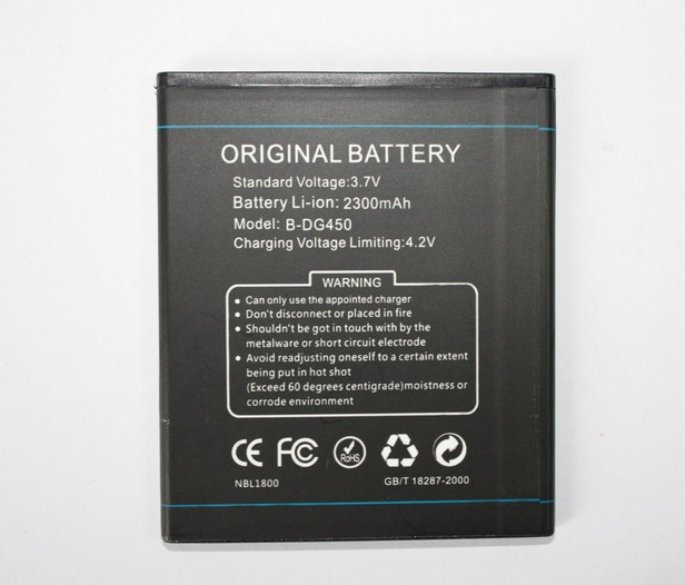 ALLCCX high quality mobile phone battery B DG450 for
