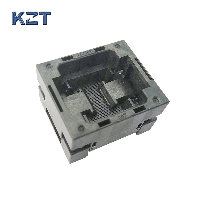 BGA141 OPEN TOP burn in socket pitch0.5mm IC size 11.5*13mm BGA141(11.5*13)-0.5-TP01NT BGA141 VFBGA141 burn in programmer socket bga80 open top burn in socket pitch 0 8mm ic size 7 9mm bga80 7 9 0 8 tp01nt bga80 vfbga80 burn in programmer socket