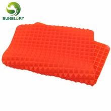 Silicone Pyramid Pan Non Stick Fat Reducing Silicone Cooking Mat BBQ Mat Microwave Oven Baking Tray Sheet Kitchen Baking Tools secrets of fat free baking