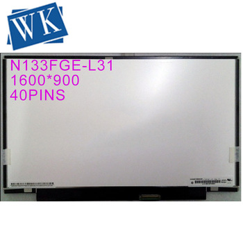 13.3 inch LCD Laptop 1600x900 WideScreen HD N133FGE-L31 lcd screen display replacement repair part for SONY laptop