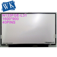 13.3 inch LCD Laptop 1600x900 WideScreen HD N133FGE L31 lcd screen display replacement repair part for SONY laptop