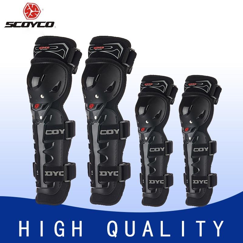 Наколенники SCOYCO мотоциклетные защитные, Защитные Налокотники для мотокросса, спортивное защитное снаряжение
