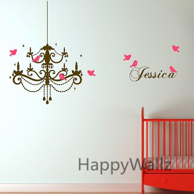 US $22.25 |Benutzerdefinierte Name Droplight Wandaufkleber DIY Kindergarten  Name Wandtattoo Kinderzimmer Baby Nurser Kinder Name Wand dekor C9 in ...
