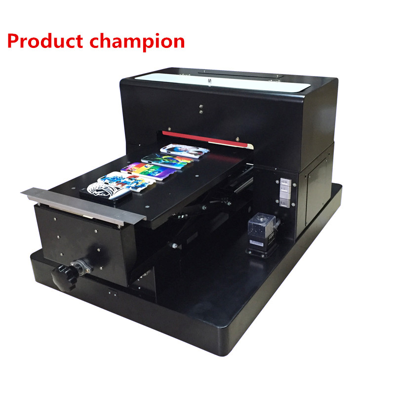 A3 Size UV Printer Embossed Image Printer Machine A3 Size White Ink Flatbed Printer with emboss effect